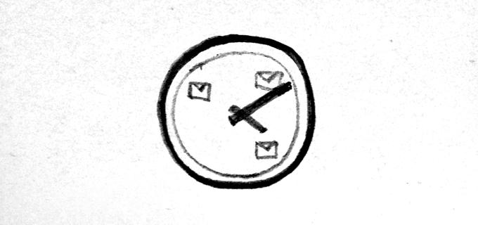 clock slow food