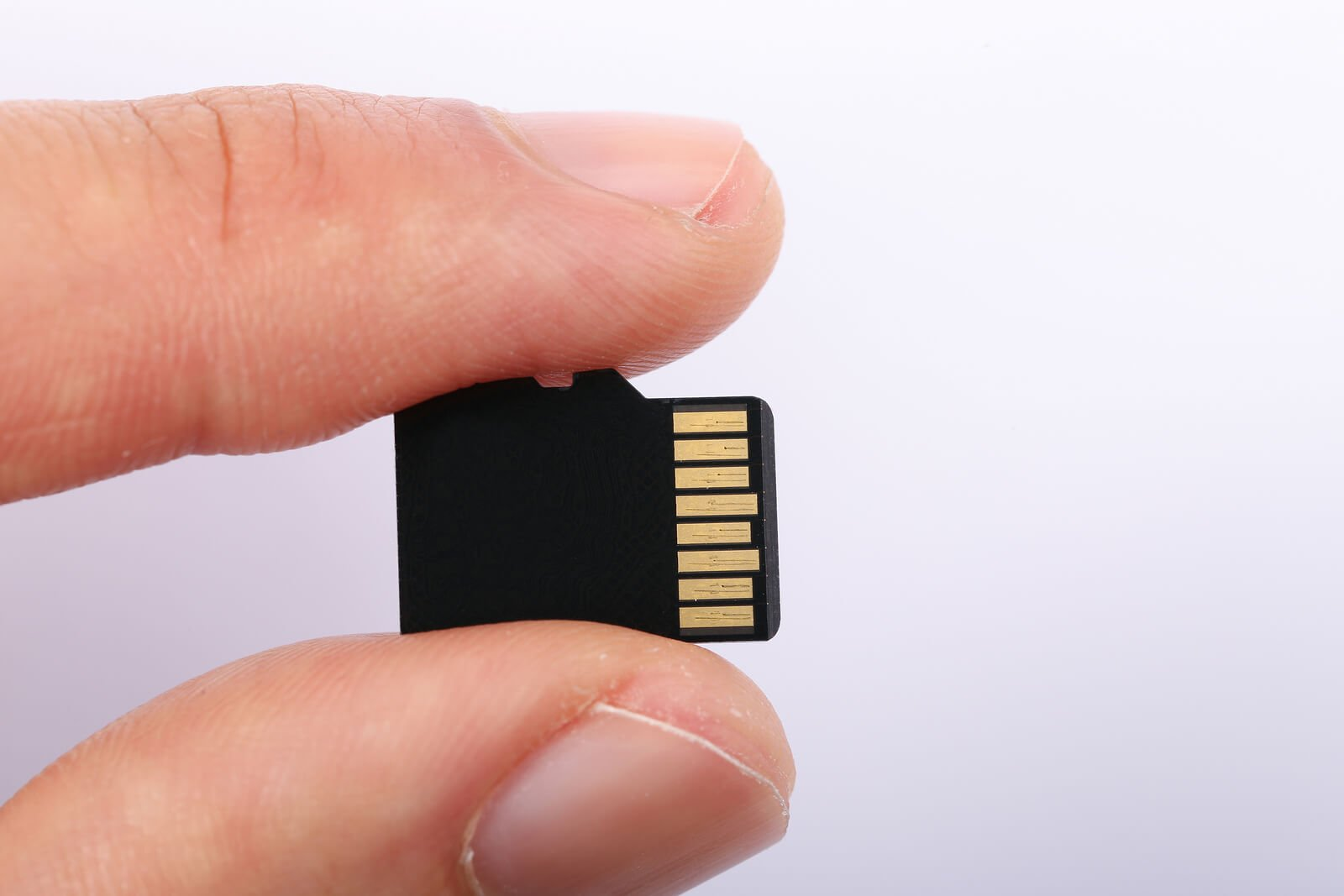 Micro Sd Memory Card With Finger